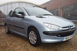 A PEUGEOT 206 S 1.1 Petrol 3-Door Saloon, Registration No. YM05 ATF, First Registered: 30/06/2005,