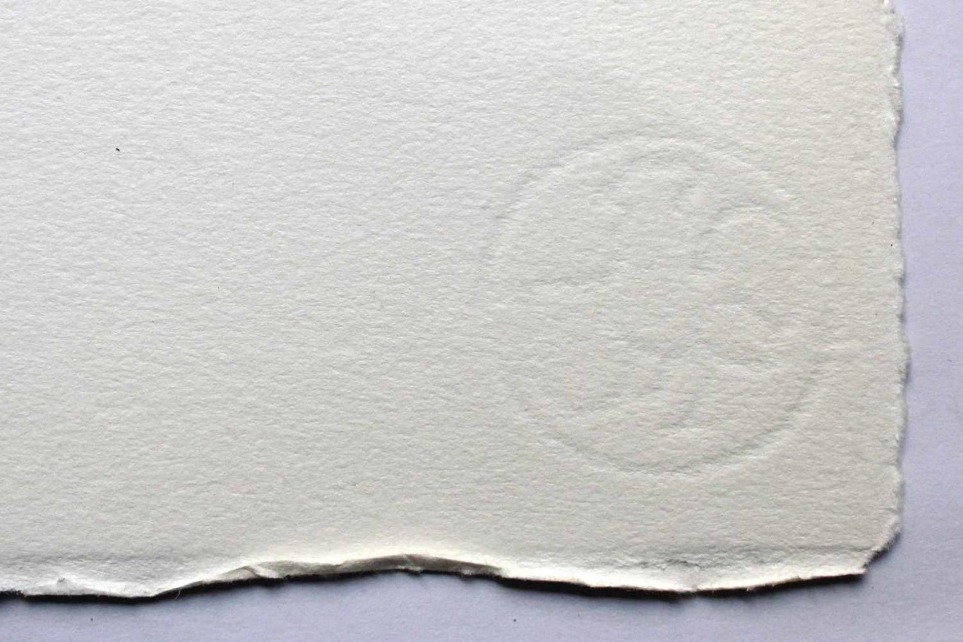 Karl Korab geb. 1937 o.T. 1993 Radierung handsigniert, datiert und nummeriert 31/200 51 x 65 cm - Bild 4 aus 4
