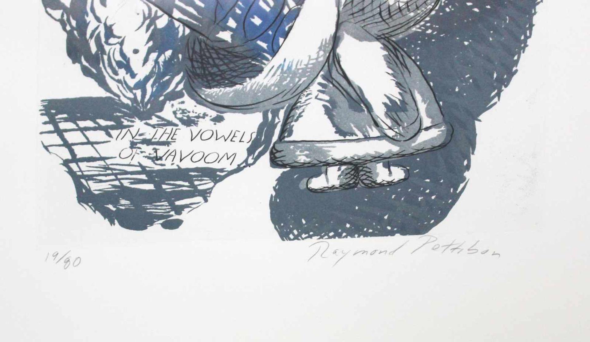 Raymond Pettibon geb. 1957 We are drawn in the vowel … 1992 Radierung, Zuckertusch und Aquatinta auf - Bild 3 aus 3