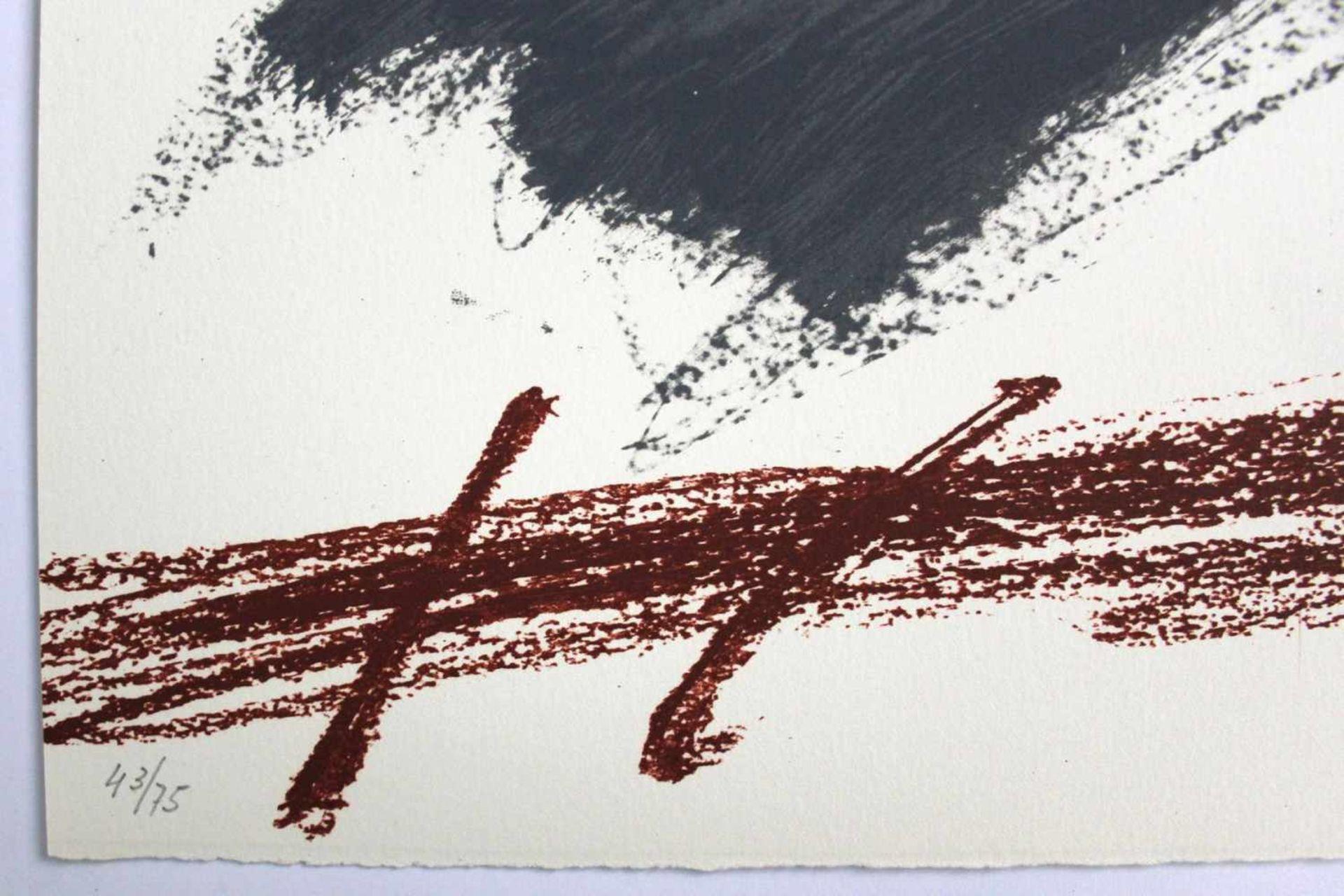 "Antoni Tapies 1923 - 2012 Poems from Catalan 1973 Farblithographie auf Arches-Bütten aus ""Poems - Bild 3 aus 3"