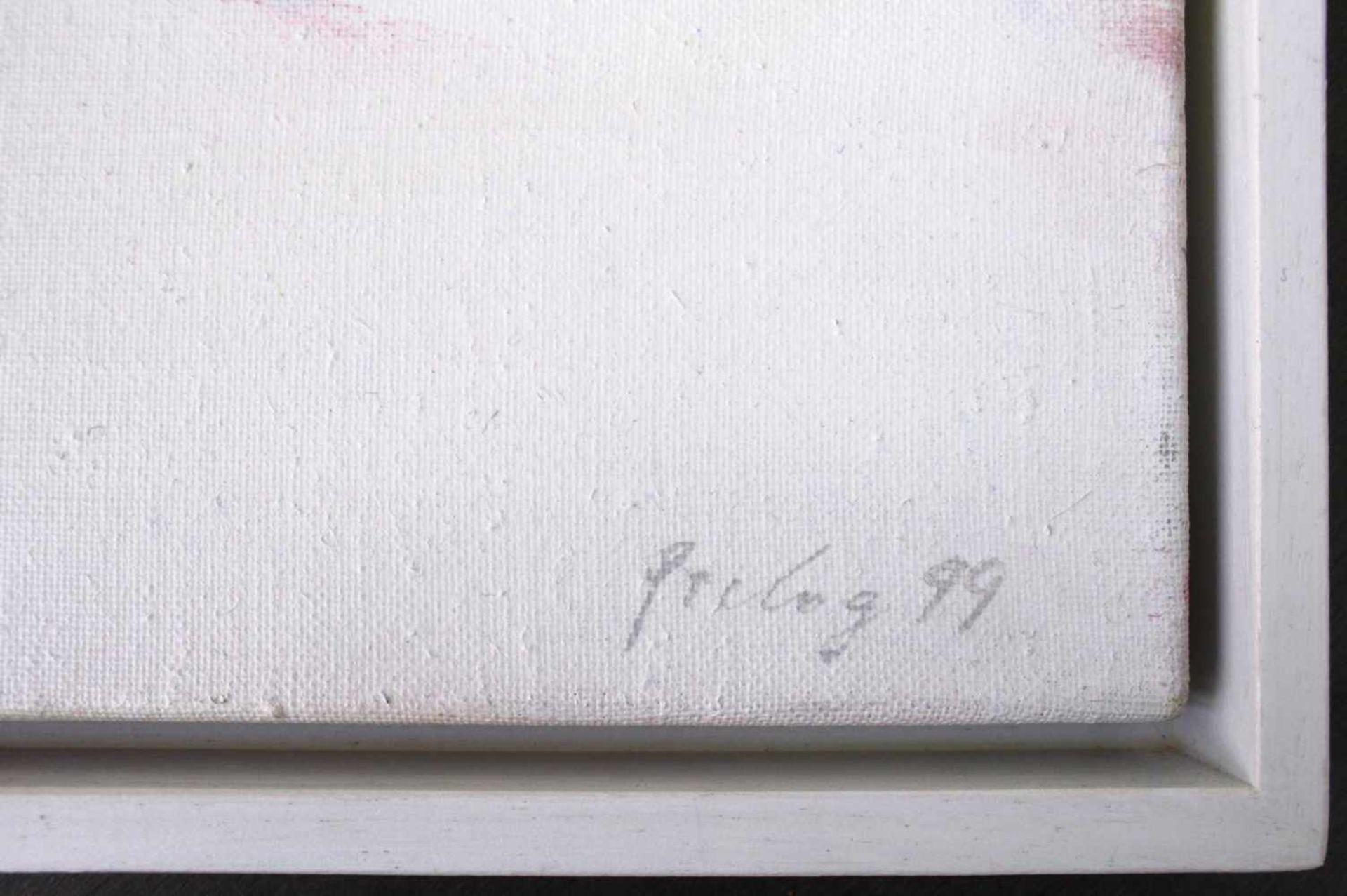 Drago Prelog geb. 1939 Chinesischer Festtag 1999 Acryl auf Leinwand handsigniert und datiert - Bild 2 aus 4