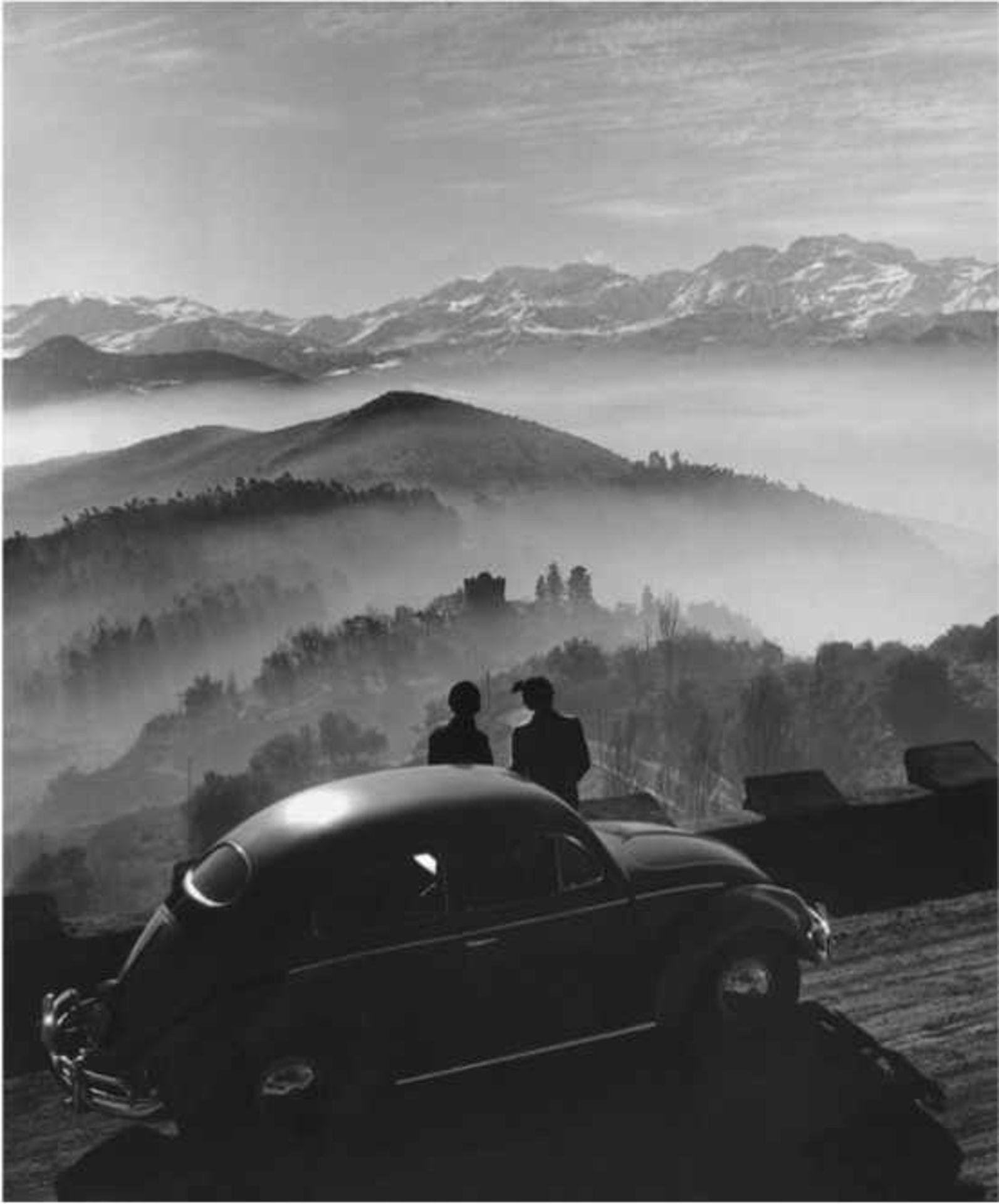 Rosmarie Pierer 1918 - 2012 Santiago de Chile - Blick vom Cerro San Cristobal 1950 Silbergelatine