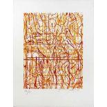 Hermann Nitsch geb. 1938 o.T. 2009 Farblithographie handsigniert und nummeriert 17/60 45 x 30 cm