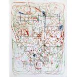 Hermann Nitsch geb. 1938 o.T. 1993 Farblithographie handsigniert, datiert und nummeriert 23/50 64,
