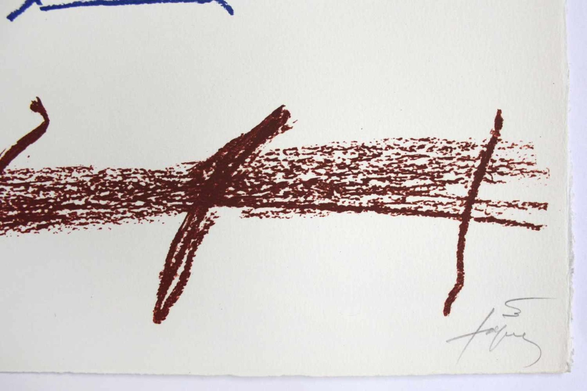 "Antoni Tapies 1923 - 2012 Poems from Catalan 1973 Farblithographie auf Arches-Bütten aus ""Poems - Bild 2 aus 3"