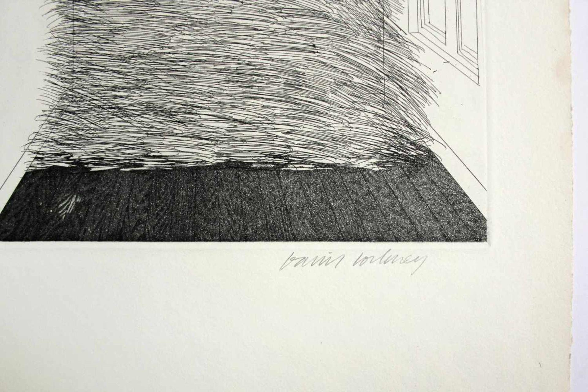 David Hockney geb. 1937 A Room Full Of Straw (from the Story Rumpelstilzchen) 1969 Aquatinta- - Bild 2 aus 3