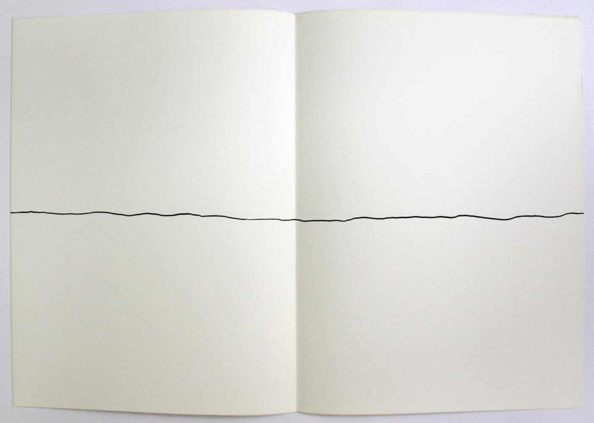 """Robert Witman geb. 1935 o.T. 1973 Lithographie auf Papier, beidseitig bedruckt aus dem Portfolio """" - Bild 3 aus 6"""