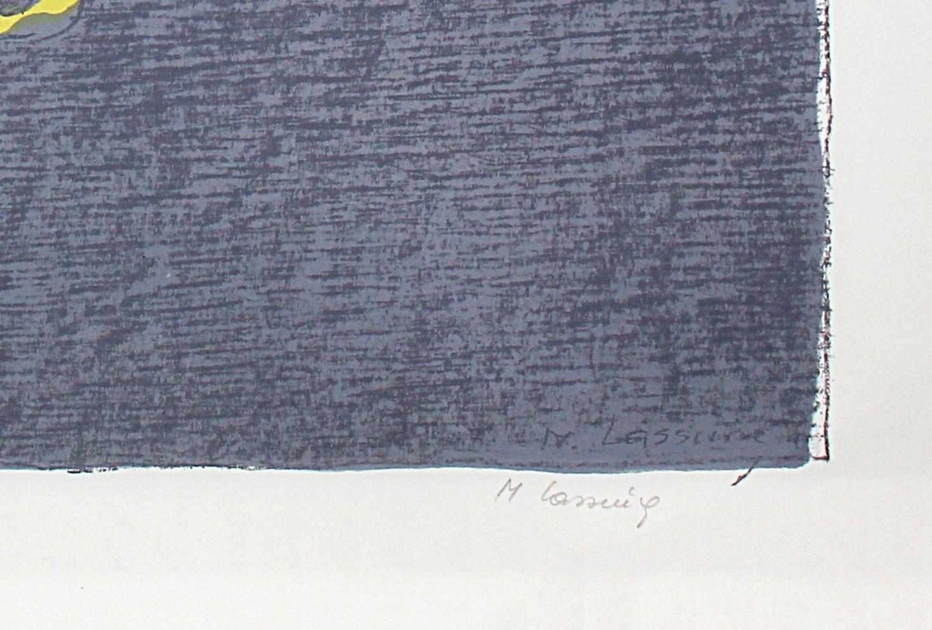 Maria Lassnig 1919-2014 o.T. 1980 Farblithographie handsigniert und nummeriert 65/100 50 x 60 cm - Bild 4 aus 4