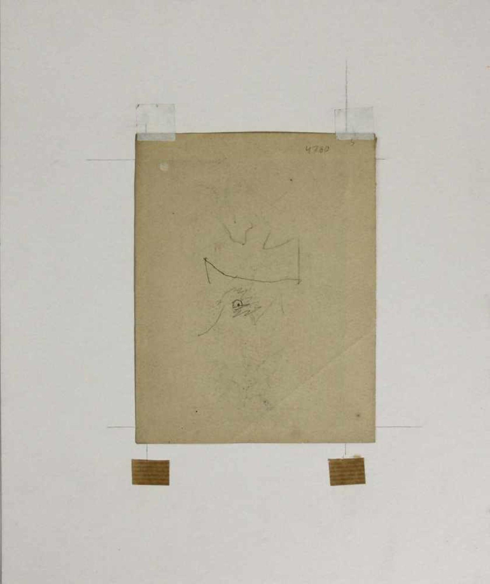 Ludwig Heinrich Jungnickel 1881-1965 Reier & Fuchs Graphit 16 x 12,5 - Bild 3 aus 3