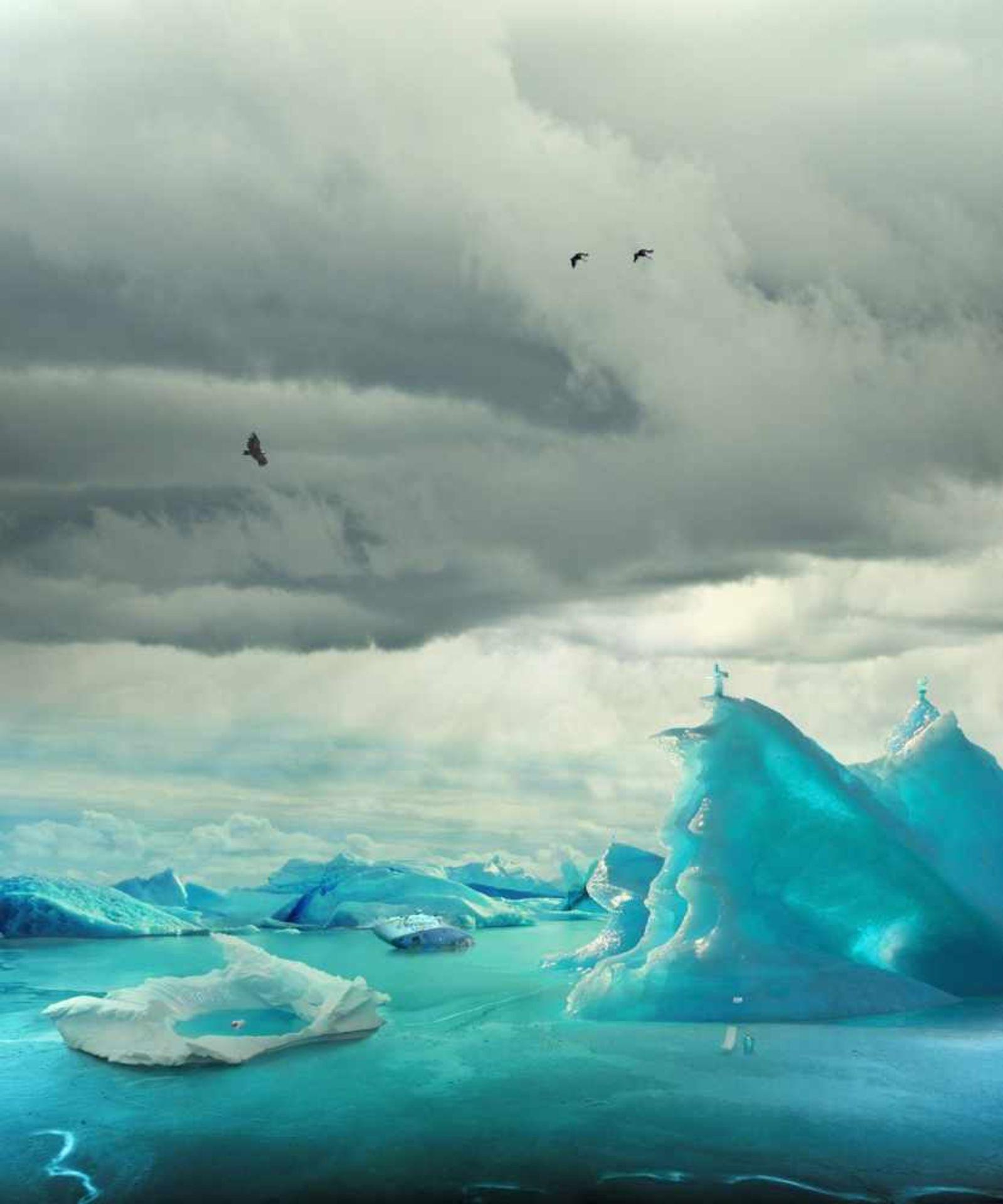 Helmut Grill geb. 1965 The Frozen Discoverer 2011 Fotografie hinter Acrylglas signiert, betitelt,