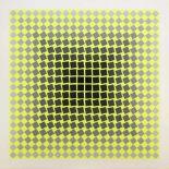 Victor Vasarely 1906-1997 o.T. Farbserigraphie auf Karton handsigniert und nummeriert 151/250 68 x