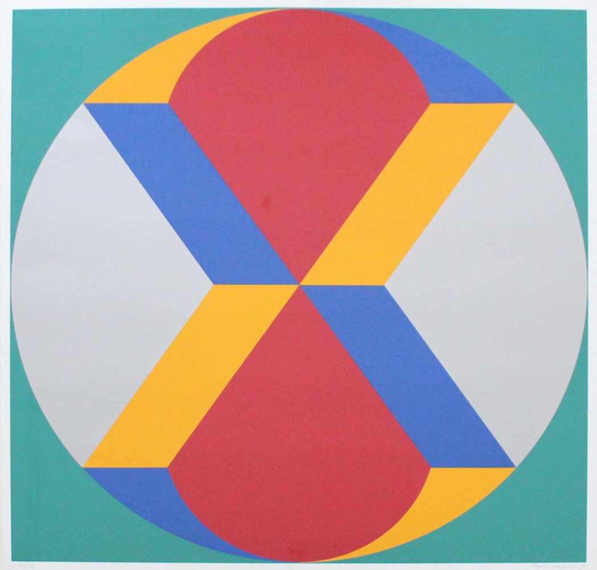 Marc Adrian 1930-2008 Poems Inventionistes II 1973 Farbserigraphie handsigniert und nummeriert 72/