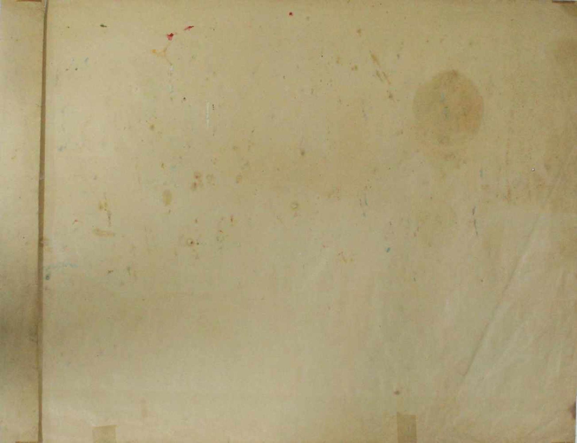 Karl Ottmar Kratochwill geb. 1910 Der Reigen 1932 Öl auf Papier handsigniert, datiert und betitelt - Bild 5 aus 5
