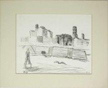 Gustav Hessing 1909-1981 N.Y. 1965 Tusche und Bleistift handsigniert, betitelt und datiert, Verso