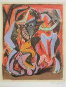 André Masson 1896 - 1987 o.T. Lithographie Stempelsigniert 65 x 50 cm