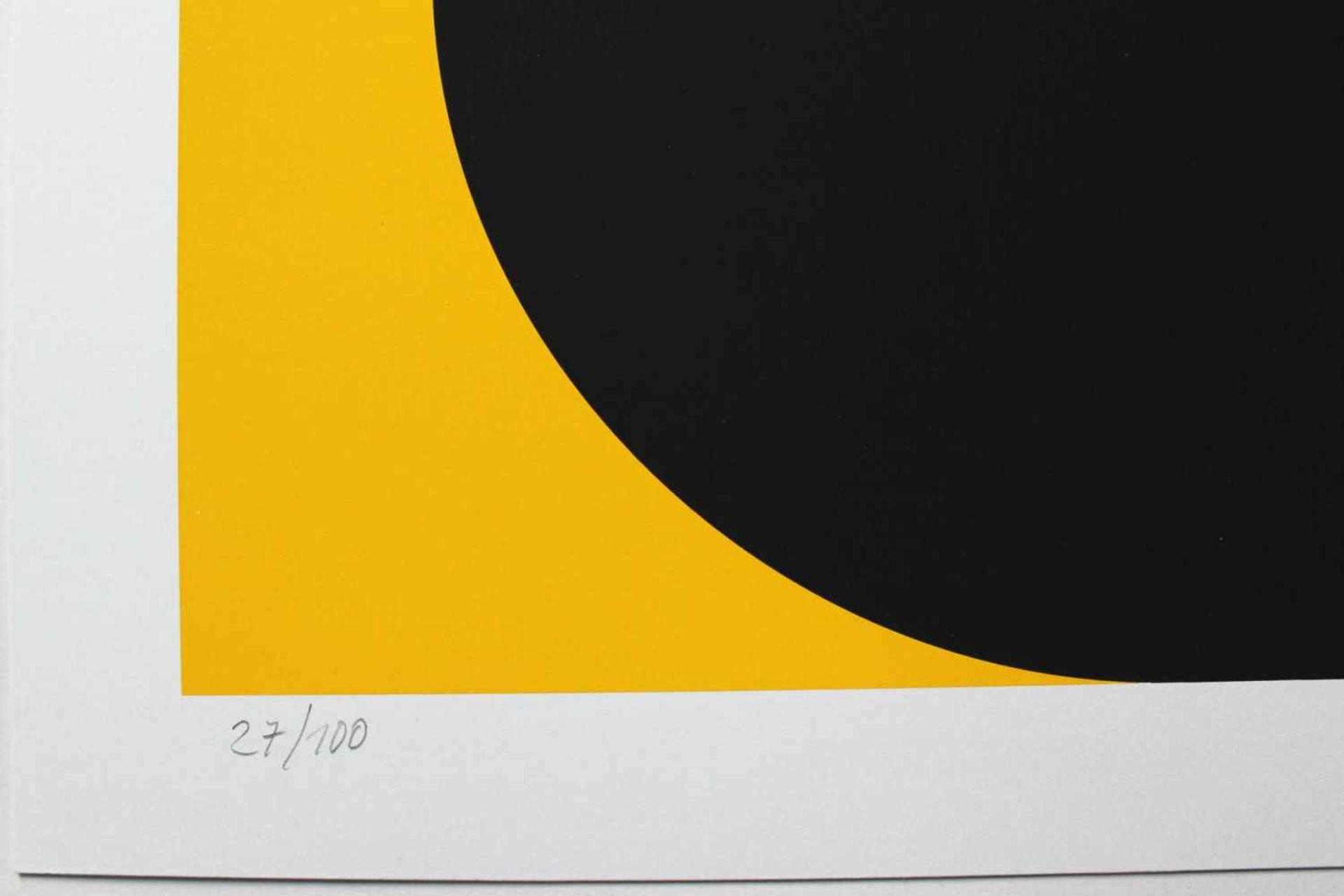 Horst Kuhnert geb. 1939 o.T. 1963/015 Farbserigraphie handsigniert, datiert und nummeriert 27/100 50 - Bild 3 aus 3
