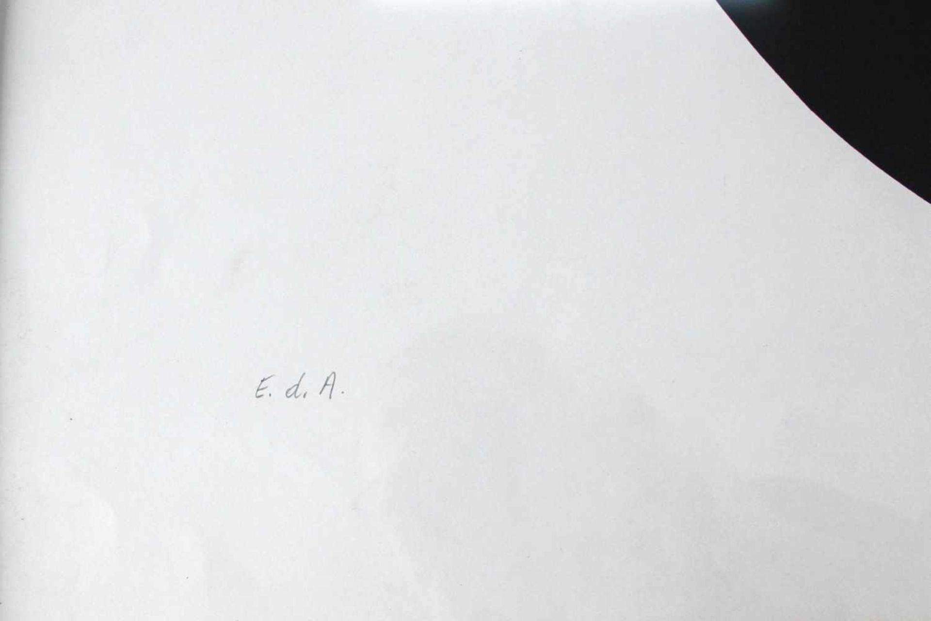 Hermann J. Painitz geb. 1938 Zahl und Zentrum 1968 Farbserigraphie handsigniert, betitelt, datiert - Bild 5 aus 5