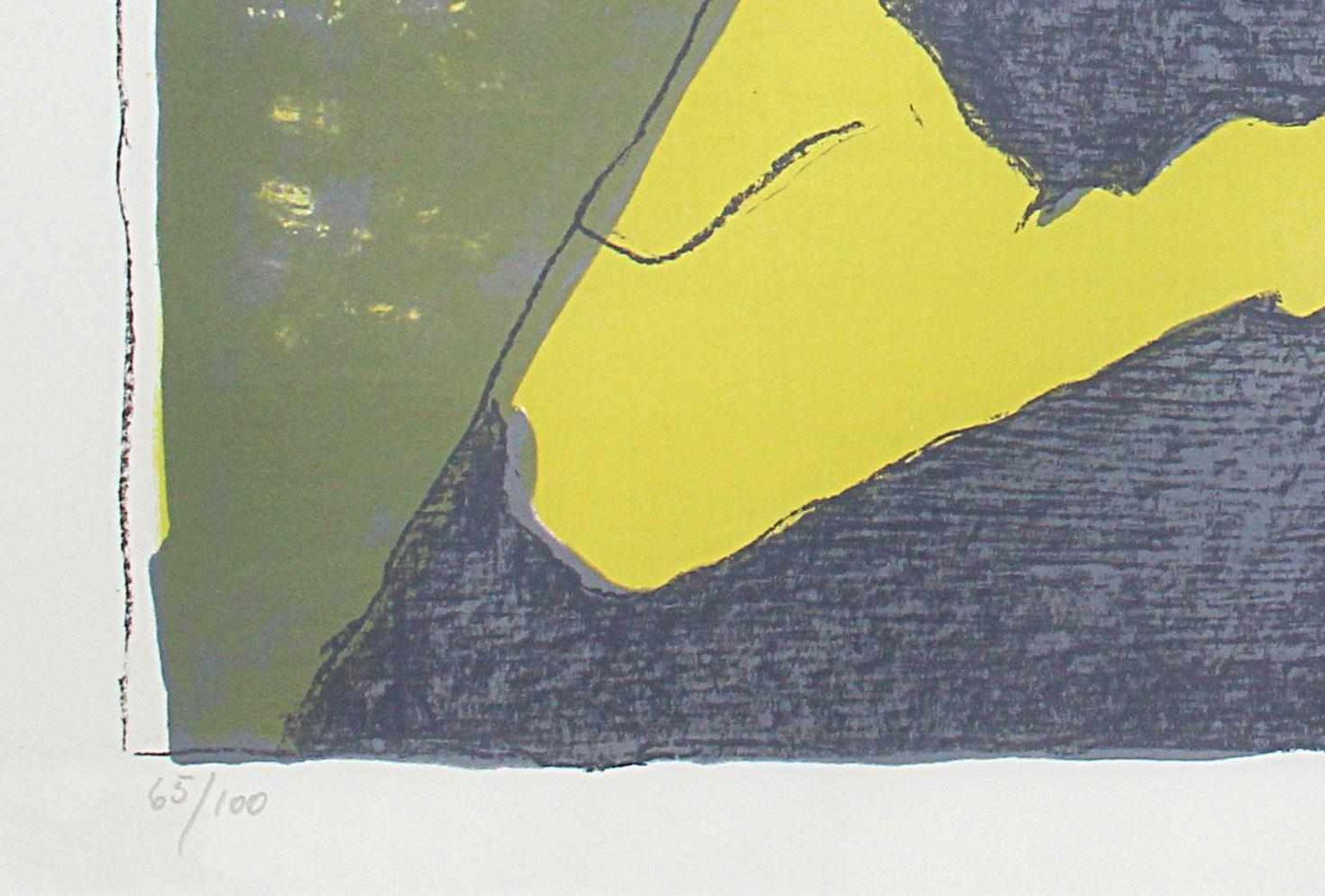 Maria Lassnig 1919-2014 o.T. 1980 Farblithographie handsigniert und nummeriert 65/100 50 x 60 cm - Bild 3 aus 4