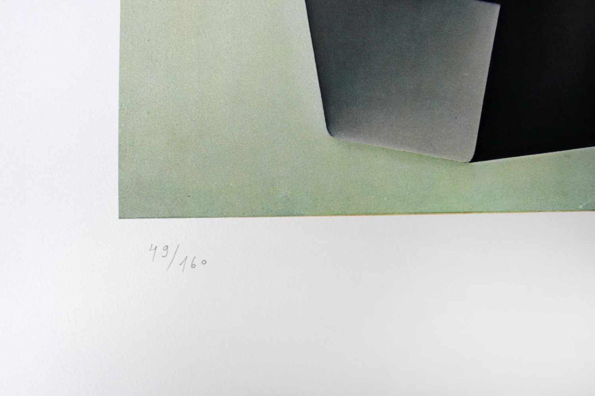 Konrad Klapheck geb. 1935 Bügeleisen / Dragon du foyer 1980 Farblithographie handsigniert und - Bild 4 aus 4