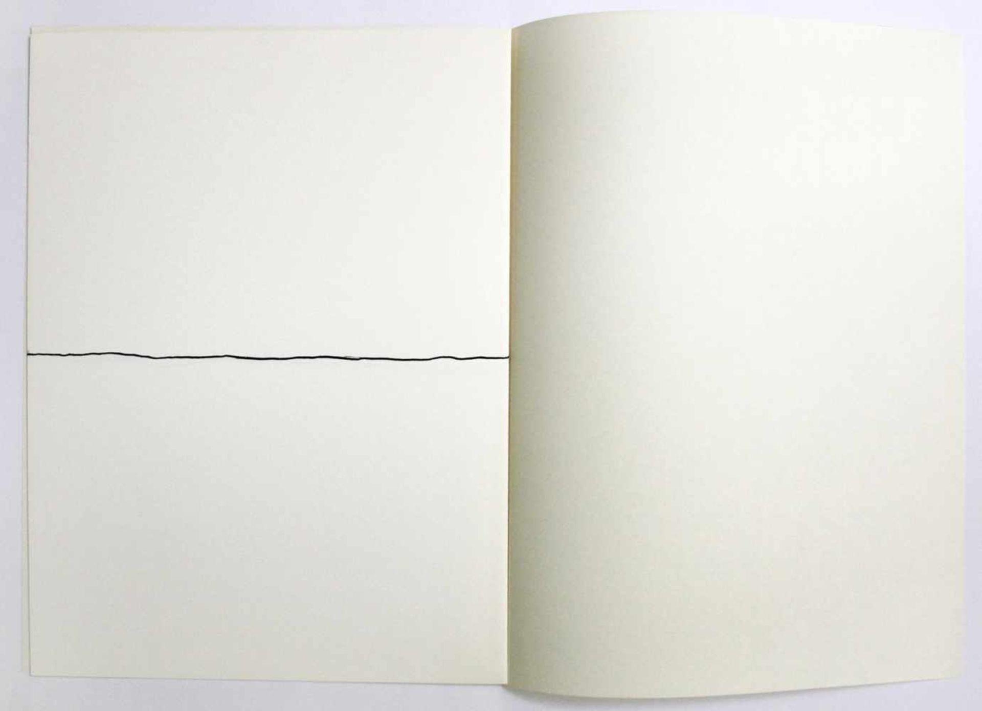 """Robert Witman geb. 1935 o.T. 1973 Lithographie auf Papier, beidseitig bedruckt aus dem Portfolio """" - Bild 4 aus 6"""