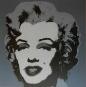 Andy Warhol 1928-1987 Marilyn Monroe Farbserigraphie Sunday B. Morning Edition, (Stempel verso: ""