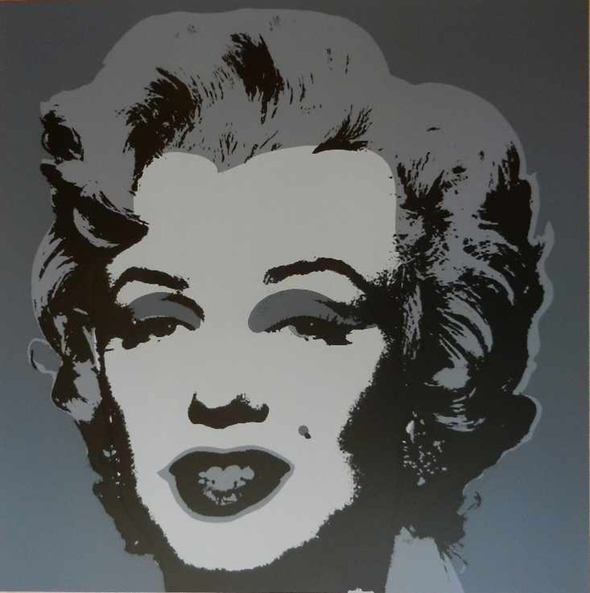 "Andy Warhol 1928-1987 Marilyn Monroe Farbserigraphie Sunday B. Morning Edition, (Stempel verso: """