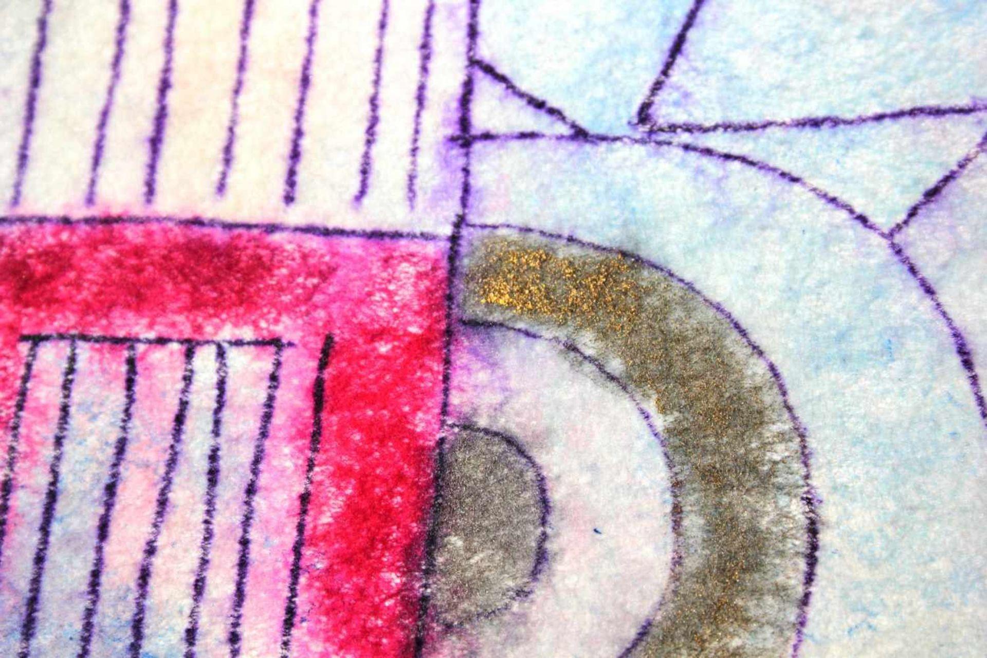 Marc Adrian 1930-2008 White Stallion 1974 Aquarell und Aquarellstift auf Vlies handsigniert und - Bild 4 aus 4