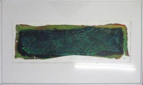Prelog Drago geb. 1939 Wiener Haut 1987 Acryl auf Papier handsigniert, betitelt und datiert vorne 40