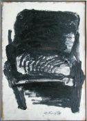 Riedl Alois geb. 1935 Ohne Titel 1979 Öl auf Spanplatte handsigniert und datiert vorne,