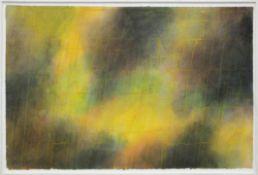 Quinte Lothar 1923-2000 Töne in gelb, grün und violett 1983 Aquarell und Gouache auf Papier
