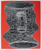Kogler Peter geb. 1959 Ohne Titel 1986 Siebdruck handsigniert, datiert und nummeriert rückseitig,