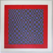 Graevenitz Gerhard von 1934-1983 Ohne Titel Lithographie handsigniert und nummeriert vorne,