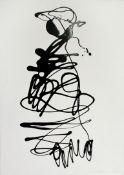 Gasteiger Jakob geb. 1953 Ohne Titel 2004 Lack auf Papier handsigniert und datiert vorne 42 x 29,5
