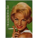 Advertising Poster Danish Cigarette Advertising