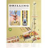 Advertising Poster BP Drilling