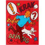Advertising Poster Tintin