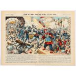 Advertising Poster Epinal Print The capture of Beijing by the Allies 1900