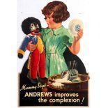 Advertising Poster Andrews Liver Salt Golliwog