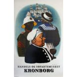 Advertising Poster Kronborg Commercial Maritime Museum