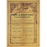 Advertising Poster Casino de Monte Carlo Mucha
