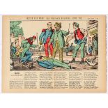 Advertising Poster Epinal Print Credit is dead the bad payers killed him