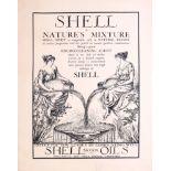 Advertising Poster Shell Motor Oils Sullivan