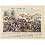 Advertising Poster Epinal Print Battle of Valmy 20 September 1792
