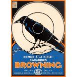 Advertising Poster Browning Rifles
