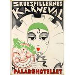 Advertising Poster Actor Carnival Pantomime Clown