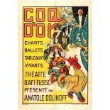 Advertising Poster Ballet Russe Golden Cockerell Pogedaieff