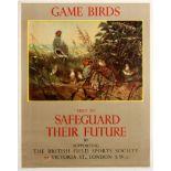 Advertising Poster Game Birds British Hunting