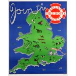 Advertising Poster British Field Sports Society Join UK