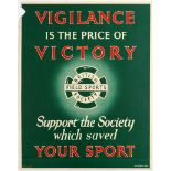 Advertising Poster British Field Sports Society Support UK