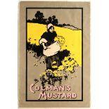 Advertising Poster Colman's Mustard UK